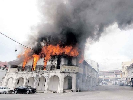Burning mosques
