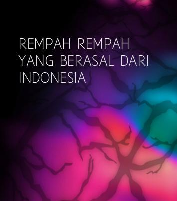 Rempah rempah yang berasal dari indonesia